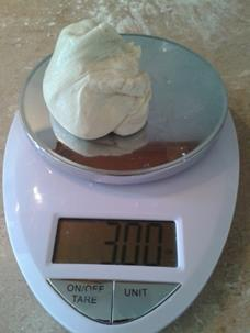 3 oz Dough
